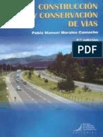 Construcción y Conservación de Vías - Morales