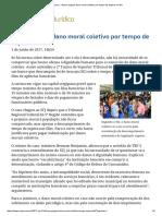 ConJur - Banco Pagará Dano Moral Coletivo Por Tempo de Espera Em Fila
