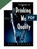 Handbook of Drinking Water Quality, 2nd Ed - 047128789X