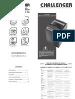 Manual Lavadora Cw5712si