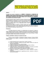 Descripción de La Planeación Integral  - Colima -
