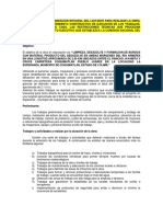 Descripción de La Planeación Integral Del Licitante Para Realizar La Obra - Colima