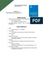 Manual de Estilo APA