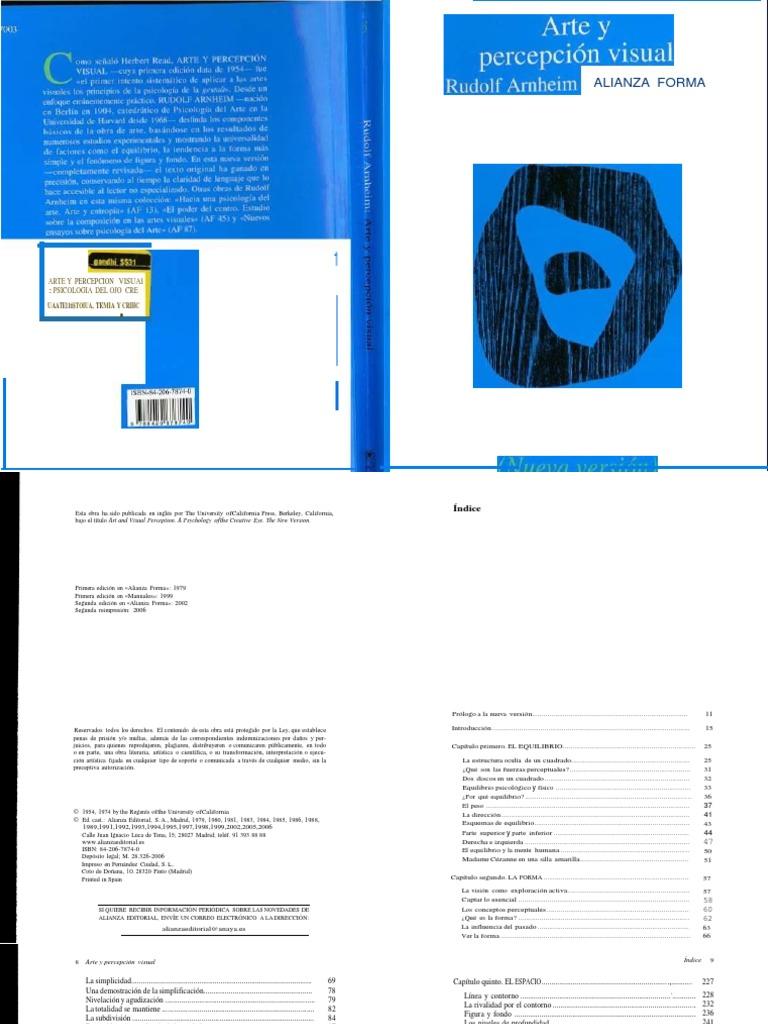 Arnheim Rudolf Arte y Percepcion Visual