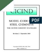 Model Code for Steel Chimneys