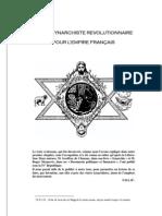 LE PACTE SYNARCHIQUE REVOLUTIONNAIRE