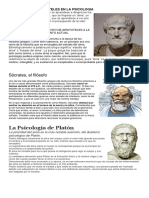 Influencia de Aristoteles en La Psicologia
