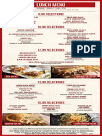 Claim Jumper Pizza Menu