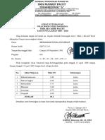 Surat Keterangan Hasil Ujian Nasional NOVAL