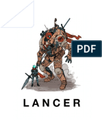 LANCER 1.4 (Rules, Tables, And Module)