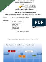1. Libertad de Empresa en Perú - Teo. Estado.