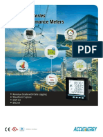 Acuvim II Multifunction Power Energy Meter Brochure Datasheet