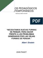 Modelos Pedagógicos Contemporáneos