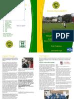 Vuwafc Programme 2013-6
