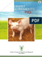 Nutrient Requirements of Pig