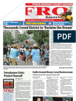 Prince George's County Afro-American Newspaper, September 4, 2010