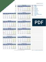 Calendario Bolivia 2018