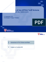 Enhanced Time of Use [ETOU] Tariff Scheme