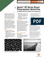 Product Description Geolon Hp-series