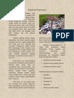 Sampah Dan Pengelolaanya