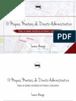 Mapas-mentais-10- - Direito Adm - Luana Araújo
