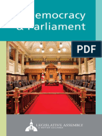 Democracy and Parliament of BC