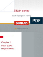 Simrad E5000 ECDIS Type Specific Training Course 150415rev 4