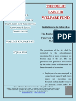 Delhi Labour Welfare Fund