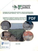 67338 Convenio de Cooperación Entre El Centro Internacional de Agricultura Tropical CIAT