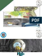 EXPOSICIÓN DE PROYECTO HIDROENERGETICO DEL ALTO PIURA
