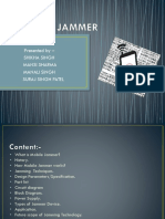 Mobile Jammer Ppt