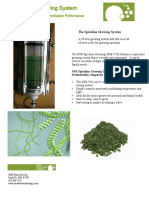 Spirulina Growing System