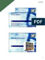 Microprocesadores AMD y Intel Tecnologia