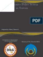 TAIWAN Comparative Police System