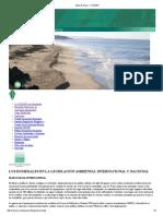 LOS HUMEDALES EN LA LEGISLACIÓN AMBIENTAL INTERNACIONAL Y NACIONAL