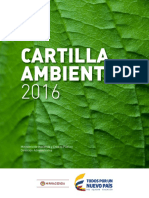 Cartilla Ambiental 2016