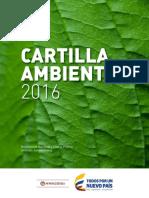Cartilla Ambiental 2016