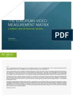 European Video Measurement Matrix Jan2018 F
