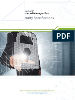 PMP Security Specifications