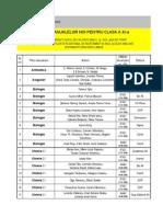 Manuale Clasa a XI A