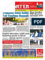 Bikol Reporter March 12 - 18, 2017 Issue
