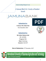 Promotion Mix of Jamuna Bank Ltd. - A Study On Konabari Branch