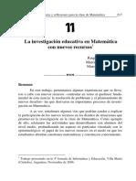 11 Investigación en Matemática