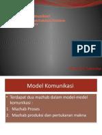 Model Komunikasi (P7)