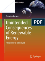 Otto Andersen Auth. Unintended Consequences of Renewable Energy Problems to Be Solved