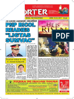 Bikol Reporter April 16 - 22, 2017 Issue