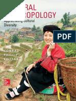 Cultural Anthropology Appreciating Cultural Diversity - Kottak, Conrad Phillip [SRG]