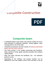 Prestressed Composite Beams