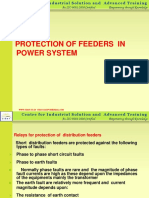 PPT 5 Feeder Protection & Relay Coordination | Relay | Electronic