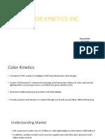 Color Kinetics Inc b2b